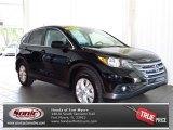 2012 Crystal Black Pearl Honda CR-V EX #80425225