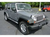 2013 Billet Silver Metallic Jeep Wrangler Unlimited Sport S 4x4 #80425657