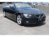2007 Jet Black BMW 3 Series 335i Convertible #80425869