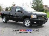2009 Black Chevrolet Silverado 1500 LT Extended Cab 4x4 #8036157