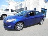 2012 Sonic Blue Metallic Ford Focus SE Sedan #80425442