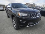 2014 Brilliant Black Crystal Pearl Jeep Grand Cherokee Overland 4x4 #80425925