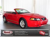 2003 Torch Red Ford Mustang V6 Convertible #80425217