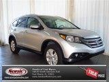 2013 Alabaster Silver Metallic Honda CR-V EX-L #80425214