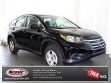 2013 Crystal Black Pearl Honda CR-V LX #80425213