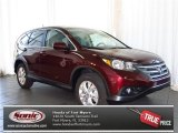 2013 Basque Red Pearl II Honda CR-V EX #80425210