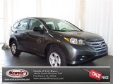 2013 Polished Metal Metallic Honda CR-V LX AWD #80425206