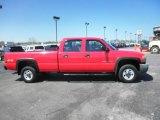 2003 Fire Red GMC Sierra 2500HD Crew Cab 4x4 #80425849