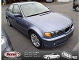 2003 Steel Blue Metallic BMW 3 Series 325i Sedan #80425509