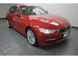 2012 Melbourne Red Metallic BMW 3 Series 328i Sedan #80425614