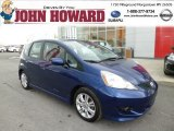 2011 Vortex Blue Pearl Honda Fit Sport #80425689