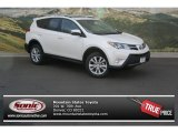 2013 Blizzard White Pearl Toyota RAV4 Limited AWD #80425157