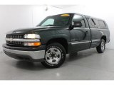 2002 Forest Green Metallic Chevrolet Silverado 1500 Work Truck Regular Cab #80425133