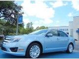 2010 Light Ice Blue Metallic Ford Fusion Hybrid #80425360