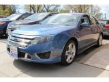 2010 Sport Blue Metallic Ford Fusion Sport #80425589
