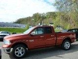 2013 Copperhead Pearl Ram 1500 Laramie Quad Cab 4x4 #80425577