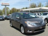 2011 Predawn Gray Mica Toyota Sienna Limited AWD #80480704