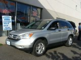 2010 Alabaster Silver Metallic Honda CR-V EX AWD #80481056