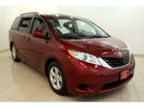 2012 Salsa Red Pearl Toyota Sienna LE #80480941