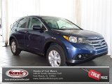 2013 Twilight Blue Metallic Honda CR-V EX AWD #80480353