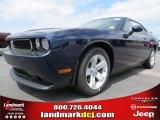 2013 Jazz Blue Pearl Dodge Challenger SXT #80480580