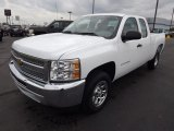 2013 Summit White Chevrolet Silverado 1500 LS Extended Cab #80480817