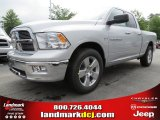 2012 Bright Silver Metallic Dodge Ram 1500 Big Horn Quad Cab #80480576