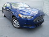 2013 Deep Impact Blue Metallic Ford Fusion SE 1.6 EcoBoost #80480695