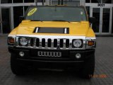 2003 Yellow Hummer H2 SUV #795816
