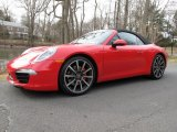 2012 Porsche 911 Guards Red