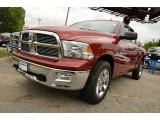 2011 Deep Cherry Red Crystal Pearl Dodge Ram 1500 Big Horn Quad Cab #80480911