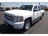 2013 Summit White Chevrolet Silverado 1500 LTZ Crew Cab 4x4 #80480798