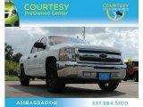 2012 Summit White Chevrolet Silverado 1500 LS Crew Cab #80480905