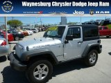 2011 Bright Silver Metallic Jeep Wrangler Rubicon 4x4 #80480678