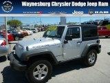 2011 Bright Silver Metallic Jeep Wrangler Rubicon 4x4 #80480678