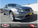 2013 Palladium Silver Metallic Mercedes-Benz S 550 Sedan #80480549