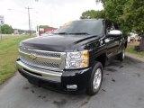 2009 Black Chevrolet Silverado 1500 LT Crew Cab #80481103