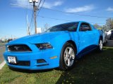 2013 Grabber Blue Ford Mustang V6 Coupe #80481008