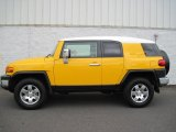2010 Toyota FJ Cruiser Sun Fusion Yellow