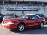 1994 Laser Red Tinted Metallic Ford Mustang GT Convertible #80481094