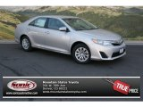 2013 Classic Silver Metallic Toyota Camry LE #80480288