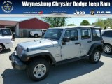 2013 Billet Silver Metallic Jeep Wrangler Unlimited Sport 4x4 #80480649