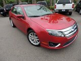 2011 Red Candy Metallic Ford Fusion SEL #80480758