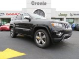 2014 Brilliant Black Crystal Pearl Jeep Grand Cherokee Limited #80480641