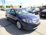 2013 Obsidian Blue Pearl Honda Accord EX-L Sedan #80480986