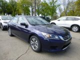 2013 Obsidian Blue Pearl Honda Accord LX Sedan #80480985