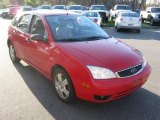 2005 Sangria Red Metallic Ford Focus ZX5 SES Hatchback #80481073