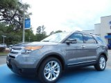 2013 Sterling Gray Metallic Ford Explorer XLT #80480504