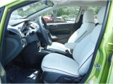2013 Ford Fiesta Titanium Sedan Cashmere Leather Interior