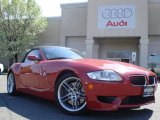 2008 Imola Red BMW M Roadster #8022257